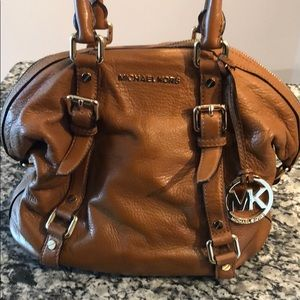 MK medium sized handbag (luggage brown)